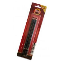 Oglje v svinčniku različnih trdot 3/1 za risanje in senčenje Gioconda Koh-I-Noor