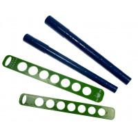 Orodje za merjenje in izdelavo prstanov 4 kosi