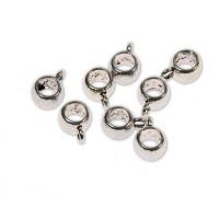 Perle kovinske obešanke 8 mm, 8 kos