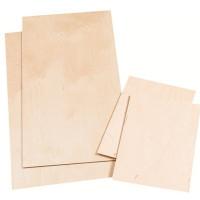 Lesena plošča 21x30x0,4cm 1 kos