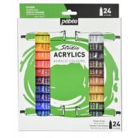 Akrilne barve STUDIO ACRYLICS set 24x12ml