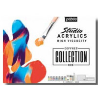 Set Studio Acrylics Collection Box