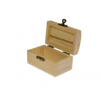 Lesena škatlica 9 x 5,5 x 5 cm, 1 kos