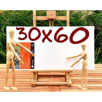 Platno slikarsko 30x60cm 300g/m2 1 kos