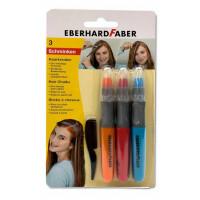Voščenke za barvanje las: rdeča, modra, oranžna