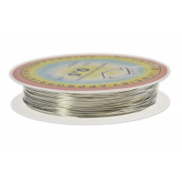 Barvna žica 0,5 mm x 7,5 m srebrne barve