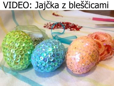 VIDEO: Jajčka z bleščicami