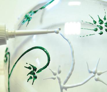 Mirror Effect kroglica za novoletno drevesce