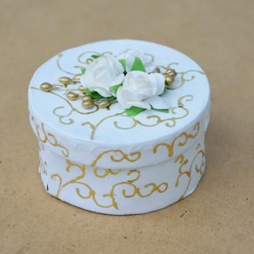 Poročna dekoracija - škatlice